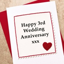 3rd Wedding Anniversary Ideas For Husband Info