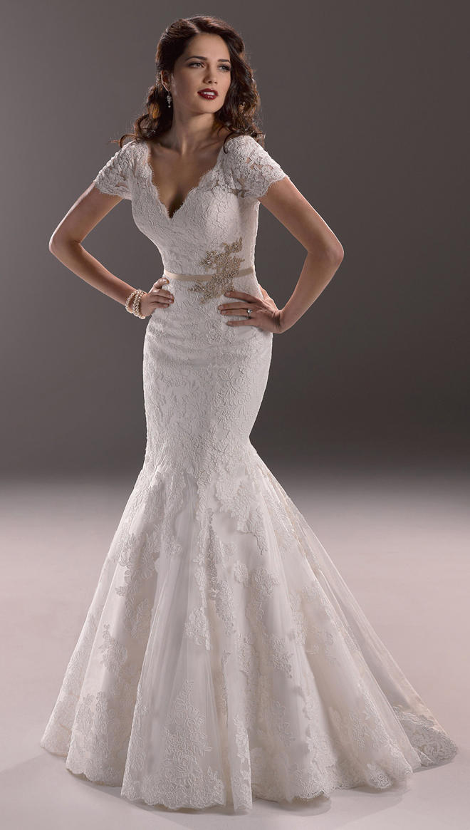 40s Style Wedding Dress