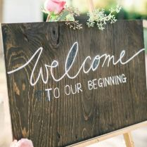 5 Amazing Welcome Board Ideas To Spread Cheer At Your Wedding