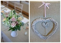 A Shabby Chic Village Hall Wedding With A Sassi Holford Wedding Gown