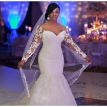 Aliexpress Com Buy Plus Size Mermaid Wedding Dress 2015 Luxury