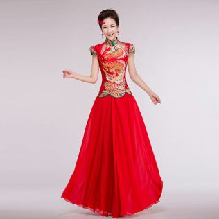 Are Chinese Wedding Dresses Red