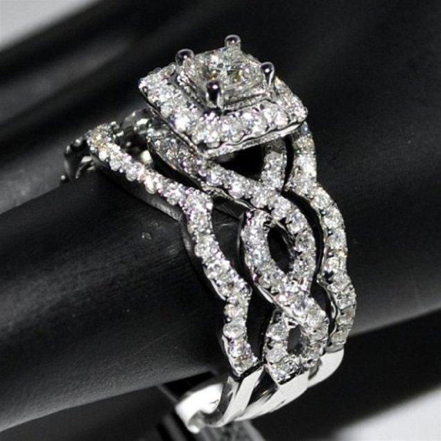 Attractive Unique Wedding Ring Sets