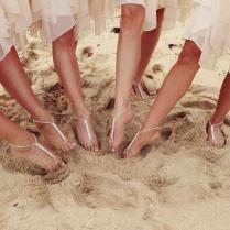 Barefoot Sandals Wedding Beach