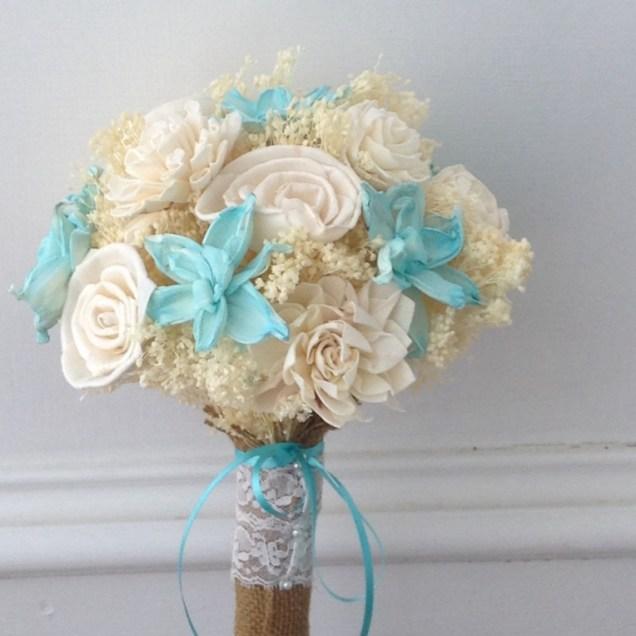 Beach Theme Wedding Flowers