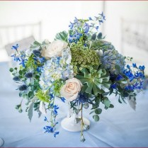 Blue Flowers For Wedding Centerpieces On Wedding Flowers With 1000
