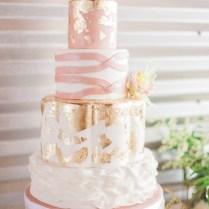 Blush Pink And Gold Wedding