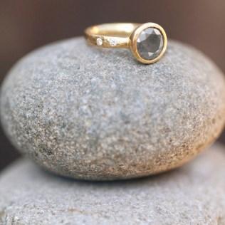 Bohemian Engagement Ring