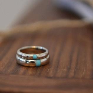 Bohemian Romance Simple Wedding Cake
