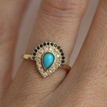 Boho Wedding Ring