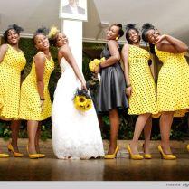Canary Yellow Bridesmaid Dresses