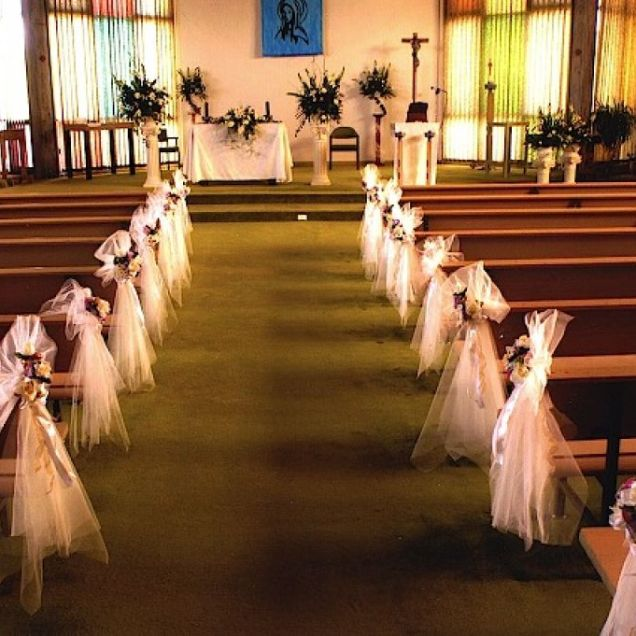 Church Decorations Wedding