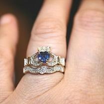 Claddagh Rings Perfect For Bridal And Sapphires