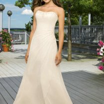 Collection Simple White Wedding Dresses Pictures