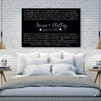 Custom Wedding Vows On Canvas – Top Wedding Usa Blog