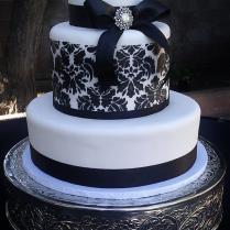 Damask Wedding Cake On Wedding Cakes With 9 10996 The Best