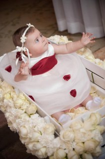 Decorating Wagon For Baby In Wedding