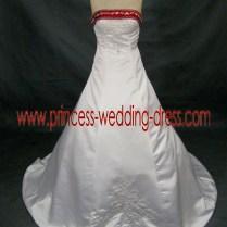Destination Wedding Dresses With Burgundy Accents 0115,princess