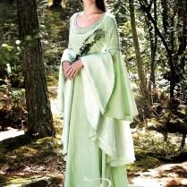 Elven Fantasy Wedding Dress