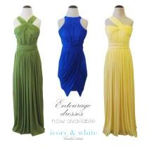 Entourage Dresses Now Available