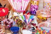 Epic Wedding In Los Angeles California Weddings Candy Bar Cotton