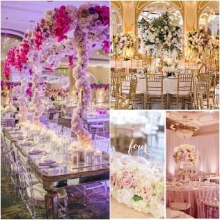 Extravagant Wedding Floral Centerpieces