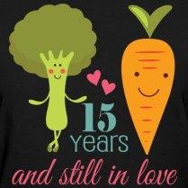 Funny 15 Year Wedding Anniversary T