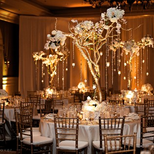 Gold Branches For Centerpieces
