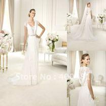 Grecian Lace Wedding Dresses