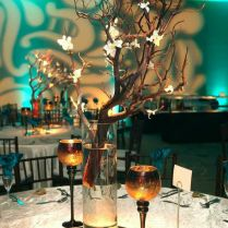 Hardik & Bansari's Natural Teal Wedding Reception – Creating