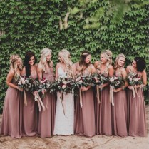 High Quality Dusty Rose Wedding Dresses Promotion