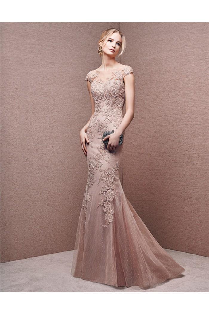 3f0f6215fa5 Dusty Rose Wedding Dress