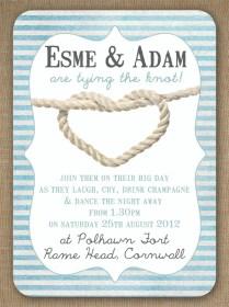 Knots And Anchors Nautical Seaside Sailing Beach Theme Wedding