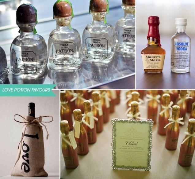 Liquor Favors For Weddings