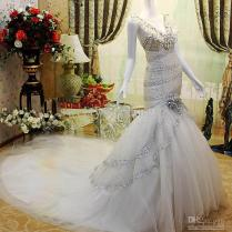 Mermaid Wedding Dress With Bling