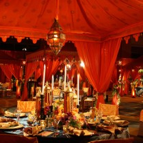 Moroccan Inspired Wedding Decorations
