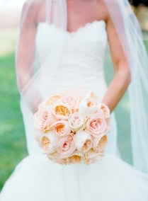 My Wedding Decor In Creamy And Peach Colors