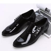 New Arrivals Black Men Shoes Groom Wedding Shoes Fashion Leisure