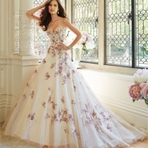 Online Get Cheap Purple Wedding Dresses