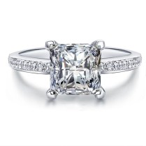 Online Get Cheap Square Diamond Engagement Ring