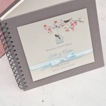 Personalized Bicycle Wedding Guest Book Or Photo Booth Album