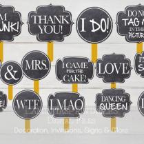 Photo Booth Props, Photo Prop, Photography Props, Photo Props