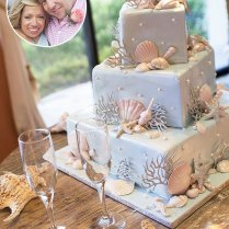 Photos The Little Couple's Vow Renewal Cake, Signature Cocktail