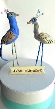 Picture Of Unique Wedding Cake Toppers