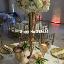 Popular Gold Wedding Centerpieces