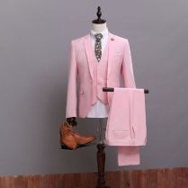 Popular Pink Wedding Suit
