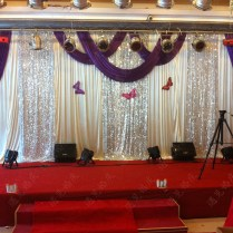 Popular Purple Swag Curtains