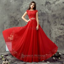 Popular Red Wedding Dresses