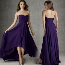 Popular Simple Long Formal Dresses Purple