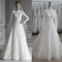 Popular Simple Muslim Wedding Dress
